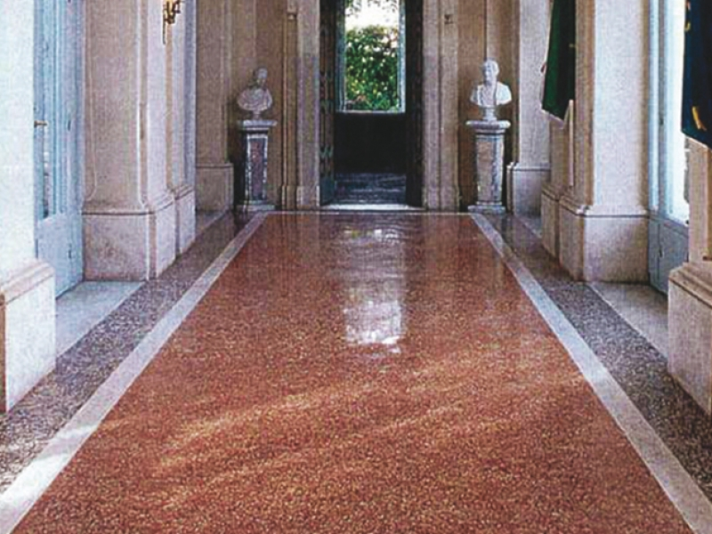 Coffee House floor in Quirinale